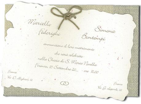 755b942e1da9 Partecipazioni Matrimonio  Come Sceglierle e Come Scriverle