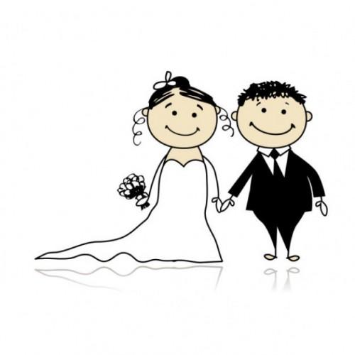 storia matrimonio cartone